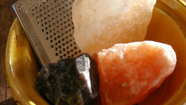 소금 채칼과 원석