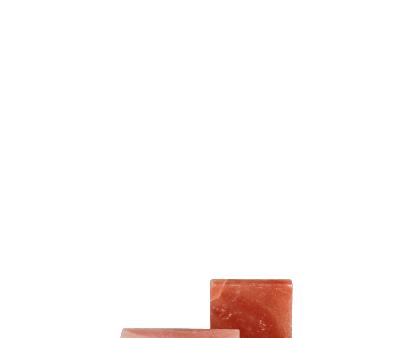 다양한 색상의 공업용 소금 벽돌